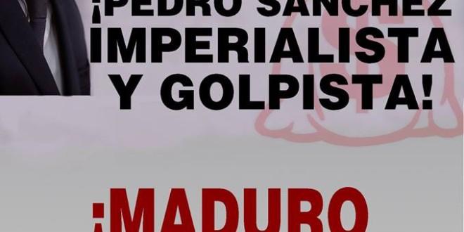 Sánchez còmplice del Colpisme Feixista