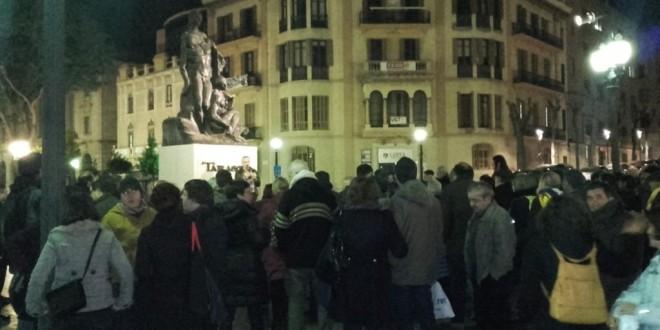 Crònica concentració a Tarragona