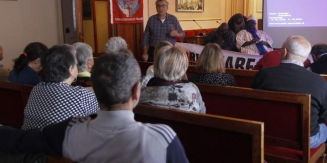 Crònica acte sobre les pensions a Amposta