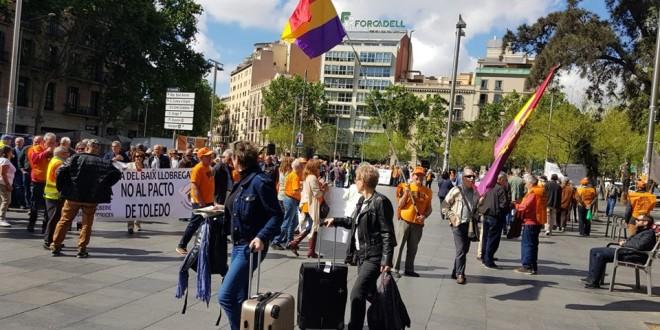 Lluita pensionista a Barcelona