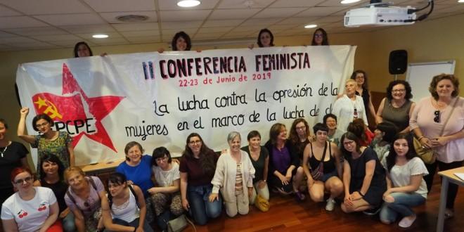 Celebrada amb èxit la II Conferència Feminista del PCPE