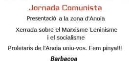 Jornada Comunista a l'Anoia