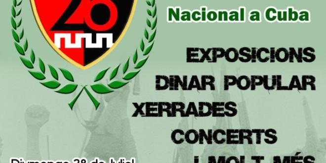 66 Aniversari: Dia de la Rebel·lia Nacional a Cuba