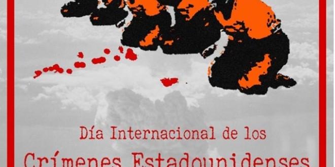 CRIDA A LA CAMPANYA: DIA INTERNACIONAL DELS CRIMS ESTATUNIDENCS CONTRA LA HUMANITAT