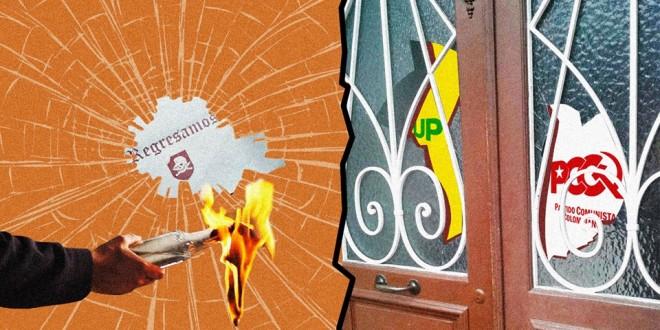 Ante los atentados paramilitares contra las sedes del Partido Comunista Colombiano-Unión Patriótica y de la Fuerza Alternativa Revolucionaria del Común