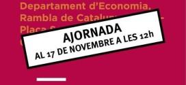 Cancel·lada Manifestació dissabte 19 d'octubre