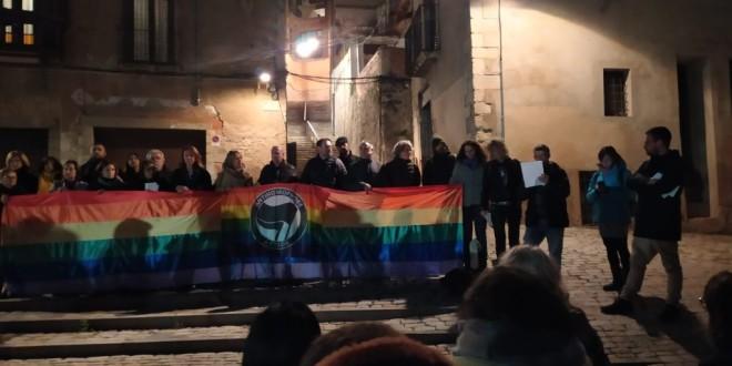Comunicat en solidaritat contra l'atac a l'espaiLGTBIde Girona.