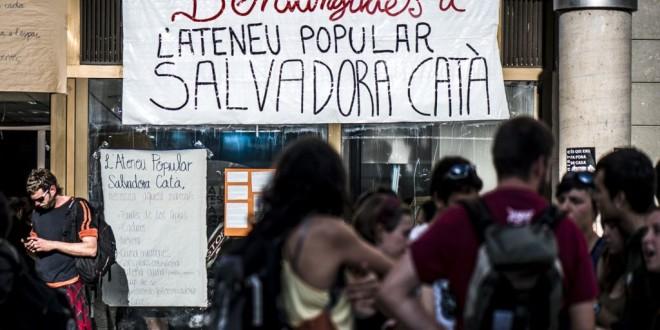 Comunicat de suport a l'Ateneu Popular Salvadora Catà