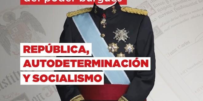 6 de Diciembre: Frente a la crisis de poder burgués; República, Autodeterminación y Socialismo
