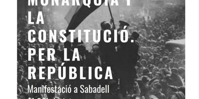 Manifestació Republicana a Sabadell