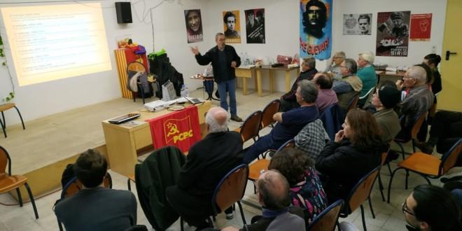 CRÒNICA DE L'ACTE DEL 102è ANIVERSARI DE LA REVOLUCIÓ D'OCTUBRE
