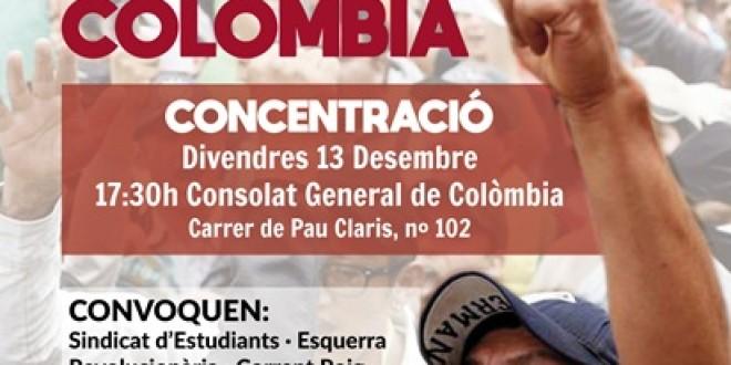 Concentració divendres 13 desembre