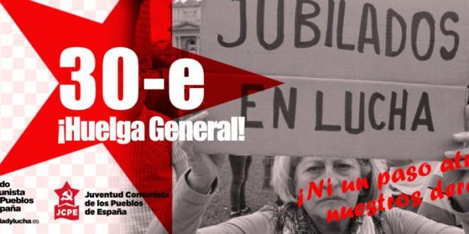 Ante la convocatoria de Huelga General en Hego Euskal Herría para el próximo día 30 de enero