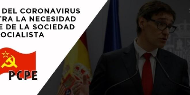 La crisis del coronavirus demuestra la necesidad urgente de la sociedad socialista