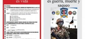 Ante el despliegue de tropas estadounidenses frente las costas de la República Bolivariana de Venezuela