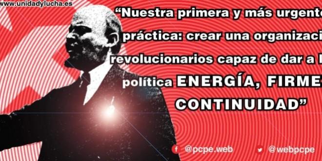 En el 150 aniversario del nacimiento de Lenin