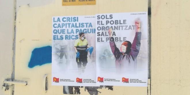 Encartellada a Lleida.