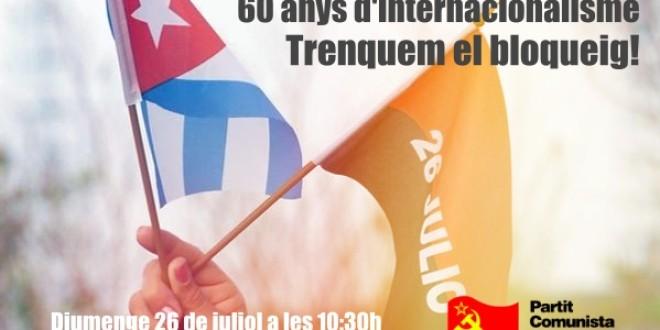 MANIFEST 26 DE JULIO. FESTA NACIONAL DE CUBA