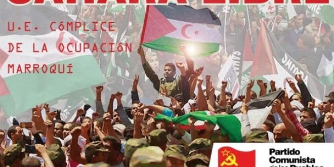 El PCPE expresa su total solidaridad y apoyo a la lucha del pueblo Saharaui por su independencia