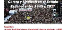 PRESENTACIÓ DEL LLIBRE – LA FSM Y EL MOS EN EL ESTADO ESPAÑOL ENTRE 1945 Y 2017