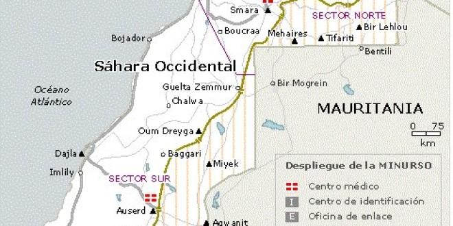 Crónica de la concentración a favor del pueblo saharaui