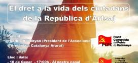 El dret a la vida dels ciutadans de la República d'Artsaj