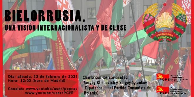 BIELORRUSIA, UNA VISIÓN INTERNACIONALISTA Y DE CLASE