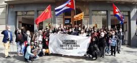 CRÒNICA DE LA CARAVANA INTERNACIONAL CONTRA EL BLOQUEIG A BARCELONA