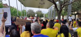 9M concentració de recolzament al poble colombià