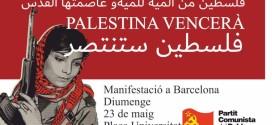 MANIFESTACIÓ ATUREM EL GENOCIDI I L'APARTHEID A PALESTINA 23/5