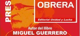 CRÓNICA PRESENTACIÓ LLIBRE MIGUEL GUERRERO