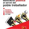 24 d'octubre: VAGA PER L'EDUCACIÓ PÚBLICA